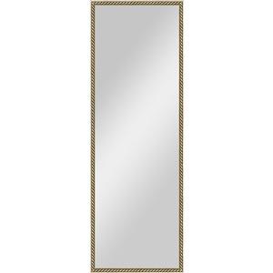 Зеркало в багетной раме поворотное Evoform Definite 48x138 см, витая латунь 26 мм (BY 0720) зеркало в багетной раме evoform definite 68x68 см витая латунь 26 мм by 0669