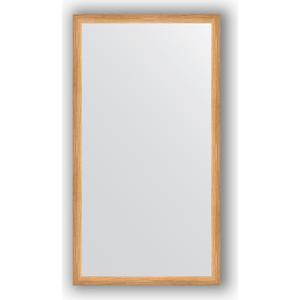 Зеркало в багетной раме поворотное Evoform Definite 60x110 см, клен 37 мм (BY 0732) зеркало в багетной раме поворотное evoform definite 60x110 см черный дуб 37 мм by 0734