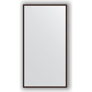 Зеркало в багетной раме поворотное Evoform Definite 68x128 см, махагон 22 мм (BY 0741) киевница настенная 2018 универсальная 86х63х9 см махагон