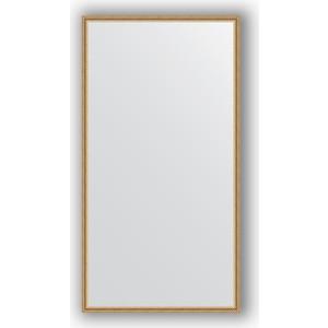 Зеркало в багетной раме поворотное Evoform Definite 68x128 см, витое золото 28 мм (BY 0743)