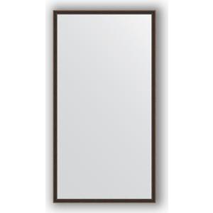 купить Зеркало в багетной раме поворотное Evoform Definite 68x128 см, витой махагон 28 мм (BY 0744) онлайн