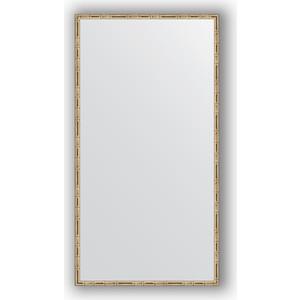 Зеркало в багетной раме поворотное Evoform Definite 67x127 см, серебряный бамбук 24 мм (BY 0745) зеркало в багетной раме evoform definite 67x67 см серебряный бамбук 24 мм by 0659
