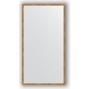Зеркало в багетной раме поворотное Evoform Definite 67x127 см, золотой бамбук 24 мм (BY 0746) зеркало в багетной раме поворотное evoform definite 47x67 см серебряный бамбук 24 мм by 0625