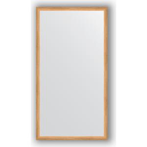 Зеркало в багетной раме поворотное Evoform Definite 70x130 см, клен 37 мм (BY 0749)