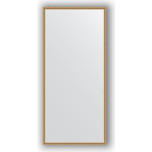 Зеркало в багетной раме поворотное Evoform Definite 68x148 см, витое золото 28 мм (BY 0760) зеркало в багетной раме поворотное evoform definite 48x98 см витое серебро 28 мм by 0691