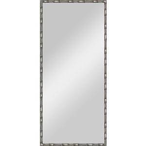 Зеркало в багетной раме поворотное Evoform Definite 67x147 см, серебряный бамбук 24 мм (BY 0762) зеркало в багетной раме evoform definite 67x67 см серебряный бамбук 24 мм by 0659