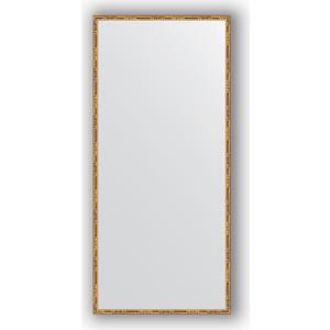 Зеркало в багетной раме поворотное Evoform Definite 67x147 см, золотой бамбук 24 мм (BY 0763) зеркало в багетной раме поворотное evoform definite 47x97 см золотой бамбук 24 мм by 0695