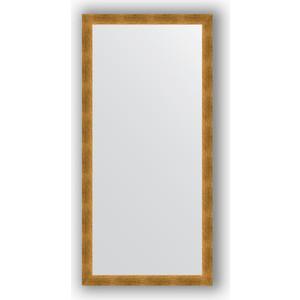 Зеркало в багетной раме поворотное Evoform Definite 74x154 см, травленое золото 59 мм (BY 0770)