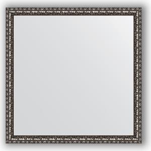 цена на Зеркало в багетной раме Evoform Definite 60x60 см, черненое серебро 38 мм (BY 0773)