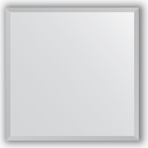 Зеркало в багетной раме Evoform Definite 56x56 см, сталь 20 мм (BY 0774) цены