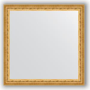 Фото - Зеркало в багетной раме Evoform Definite 62x62 см, сусальное золото 47 мм (BY 0778) зеркало в багетной раме поворотное evoform definite 52x142 см сусальное золото 47 мм by 1068