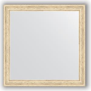 Зеркало в багетной раме Evoform Definite 63x63 см, слоновая кость 51 мм (BY 0780) зеркало в багетной раме поворотное evoform definite 73x93 см слоновая кость 51 мм by 1040