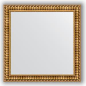 Зеркало в багетной раме Evoform Definite 64x64 см, золотой акведук 61 мм (BY 0783)