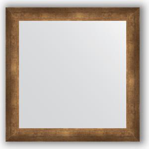 Зеркало в багетной раме Evoform Definite 66x66 см, состаренная бронза 66 мм (BY 0785) цена