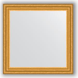 Зеркало в багетной раме Evoform Definite 66x66 см, состаренное золото 67 мм (BY 0786) недорого