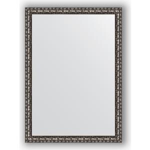 Зеркало в багетной раме поворотное Evoform Definite 50x70 см, черненое серебро 38 мм (BY 0788)