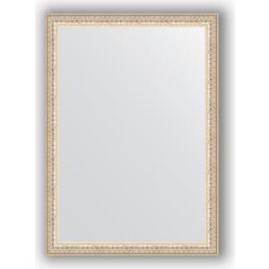 Зеркало в багетной раме поворотное Evoform Definite 51x71 см, мельхиор 41 мм (BY 0790)