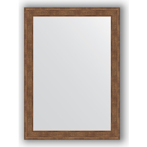 Зеркало в багетной раме поворотное Evoform Definite 53x73 см, сухой тростник 51 мм (BY 0794) зеркало в багетной раме поворотное evoform definite 63x113 см сухой тростник 51 мм by 1084