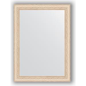 Зеркало в багетной раме поворотное Evoform Definite 54x74 см, беленый дуб 57 мм (BY 0796) зеркало в багетной раме поворотное evoform definite 60x110 см черный дуб 37 мм by 0734