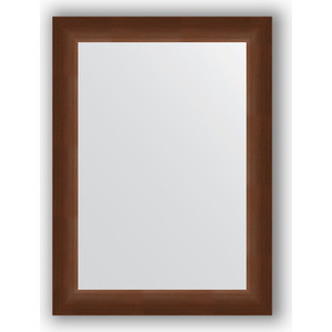 Зеркало в багетной раме поворотное Evoform Definite 56x76 см, орех 65 мм (BY 0799)