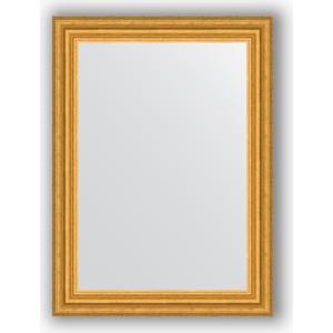 Зеркало в багетной раме поворотное Evoform Definite 56x76 см, состаренное золото 67 мм (BY 1001)