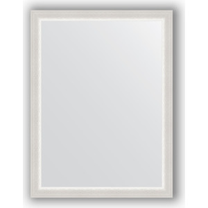Зеркало в багетной раме поворотное Evoform Definite 62x82 см, алебастр 48 мм (BY 1006)