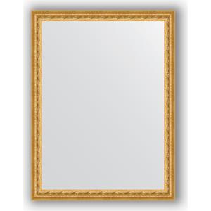 Фото - Зеркало в багетной раме поворотное Evoform Definite 62x82 см, сусальное золото 47 мм (BY 1008) зеркало в багетной раме поворотное evoform definite 52x142 см сусальное золото 47 мм by 1068