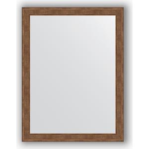Зеркало в багетной раме поворотное Evoform Definite 63x83 см, сухой тростник 51 мм (BY 1009)