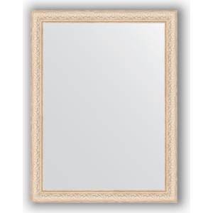 Зеркало в багетной раме поворотное Evoform Definite 64x84 см, беленый дуб 57 мм (BY 1011) зеркало в багетной раме поворотное evoform definite 60x110 см черный дуб 37 мм by 0734