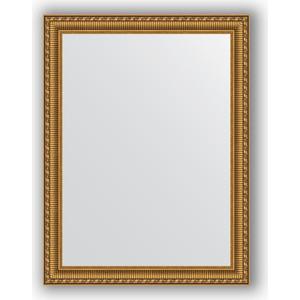 Фото - Зеркало в багетной раме поворотное Evoform Definite 64x84 см, золотой акведук 61 мм (BY 1013) боди детский luvable friends 60325 f бирюзовый р 55 61