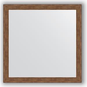 Зеркало в багетной раме Evoform Definite 73x73 см, сухой тростник 51 мм (BY 1024) зеркало в багетной раме поворотное evoform definite 63x113 см сухой тростник 51 мм by 1084