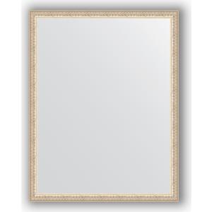 Зеркало в багетной раме поворотное Evoform Definite 71x91 см, мельхиор 41 мм (BY 1035)