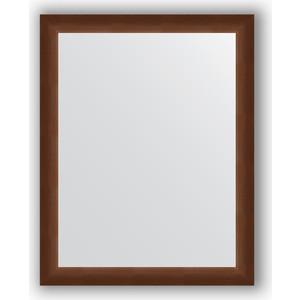Зеркало в багетной раме поворотное Evoform Definite 76x96 см, орех 65 мм (BY 1044) фото