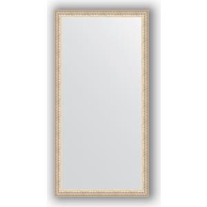 Зеркало в багетной раме поворотное Evoform Definite 51x101 см, мельхиор 41 мм (BY 1050)