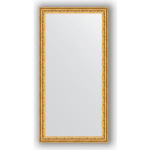 Зеркало в багетной раме поворотное Evoform Definite 52x102 см, сусальное золото 47 мм (BY 1053)
