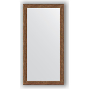 Зеркало в багетной раме поворотное Evoform Definite 53x103 см, сухой тростник 51 мм (BY 1054) зеркало в багетной раме поворотное evoform definite 63x113 см сухой тростник 51 мм by 1084