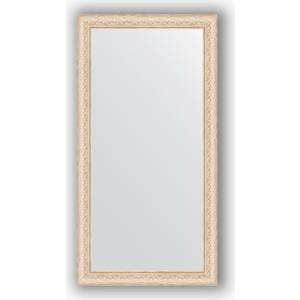 Зеркало в багетной раме поворотное Evoform Definite 54x104 см, беленый дуб 57 мм (BY 1056) зеркало в багетной раме поворотное evoform definite 60x110 см черный дуб 37 мм by 0734