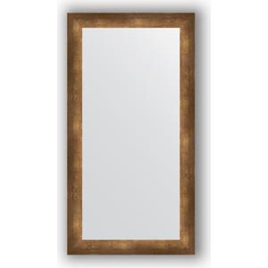 Зеркало в багетной раме поворотное Evoform Definite 56x106 см, состаренная бронза 66 мм (BY 1060) фото