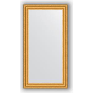 Зеркало в багетной раме поворотное Evoform Definite 56x106 см, состаренное золото 67 мм (BY 1061) цены