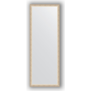 Зеркало в багетной раме поворотное Evoform Definite 51x141 см, мельхиор 41 мм (BY 1065)