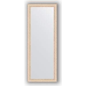 Зеркало в багетной раме поворотное Evoform Definite 54x144 см, беленый дуб 57 мм (BY 1071) зеркало в багетной раме поворотное evoform definite 60x110 см черный дуб 37 мм by 0734