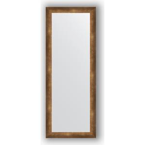 Зеркало в багетной раме поворотное Evoform Definite 56x146 см, состаренная бронза 66 мм (BY 1075)
