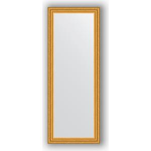 Зеркало в багетной раме поворотное Evoform Definite 56x146 см, состаренное золото 67 мм (BY 1076) цены