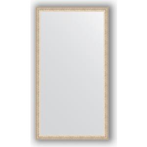 Зеркало в багетной раме поворотное Evoform Definite 61x111 см, мельхиор 41 мм (BY 1080)