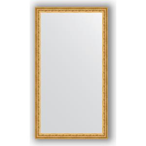 Фото - Зеркало в багетной раме поворотное Evoform Definite 62x112 см, сусальное золото 47 мм (BY 1083) зеркало в багетной раме поворотное evoform definite 52x142 см сусальное золото 47 мм by 1068