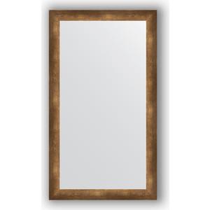 Зеркало в багетной раме поворотное Evoform Definite 66x116 см, состаренная бронза 66 мм (BY 1090) цены