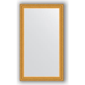 Зеркало в багетной раме поворотное Evoform Definite 66x116 см, состаренное золото 67 мм (BY 1091) цены