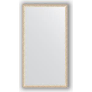 Зеркало в багетной раме поворотное Evoform Definite 71x131 см, мельхиор 41 мм (BY 1095)