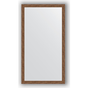 Зеркало в багетной раме поворотное Evoform Definite 73x133 см, сухой тростник 51 мм (BY 1099) зеркало в багетной раме поворотное evoform definite 63x113 см сухой тростник 51 мм by 1084