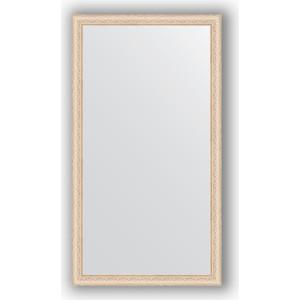 Зеркало в багетной раме поворотное Evoform Definite 74x134 см, беленый дуб 57 мм (BY 1101) зеркало в багетной раме поворотное evoform definite 60x110 см черный дуб 37 мм by 0734